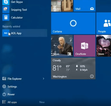 AOL app for Windows 10 download