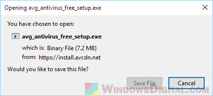 AVG Antivirus Free Full Setup Installer