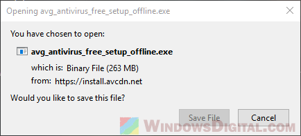 AVG Free Offline Installer
