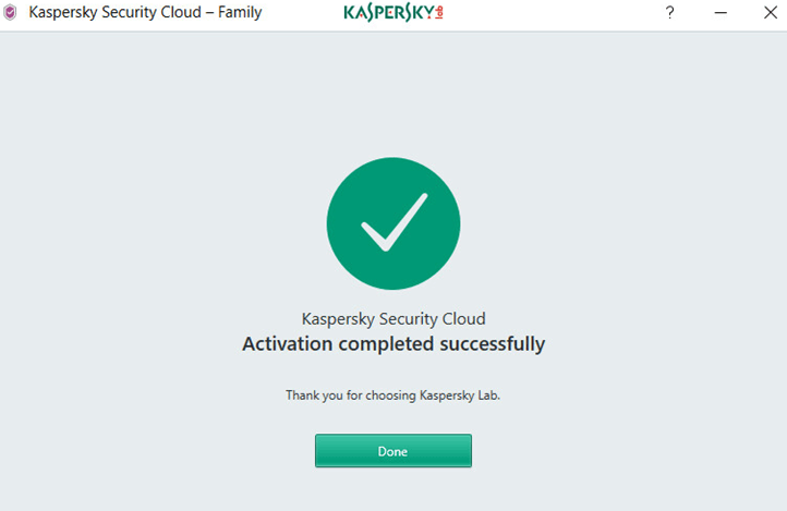 Activate Kaspersky Security Cloud Download free