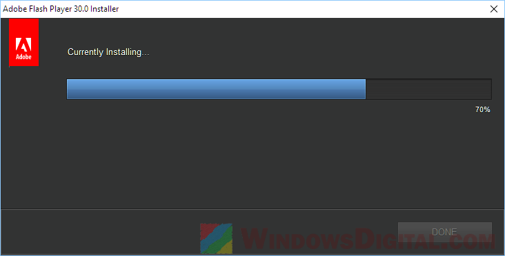 Adobe Flash Player Offline Installer Download for Windows 10 64 bit