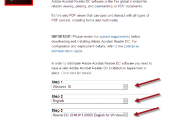 Adobe Reader DC Offline Installer Download for Windows 10 64-bit