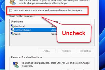 Auto Login Windows 11 Without Password