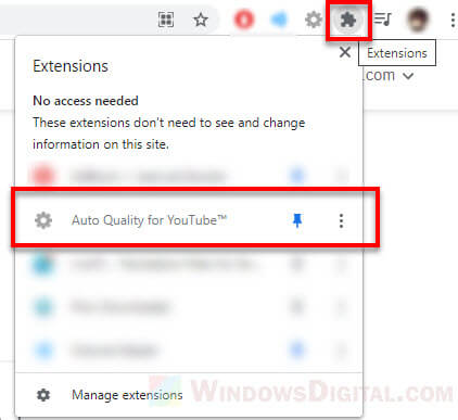 Auto YouTube 1080p HD video quality