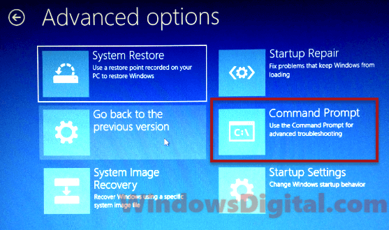Bad System Config Info Windows 10 Command Prompt