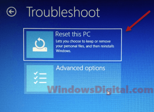 C windows system32 config systemprofile desktop windows 10 reset