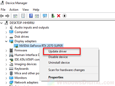 Can't find brightness slider change Windows 10