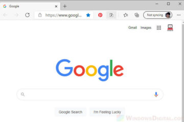 Change New Tab to Google in Edge