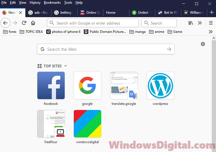 Chrome Firefox keeps opening new tabs virus when click link