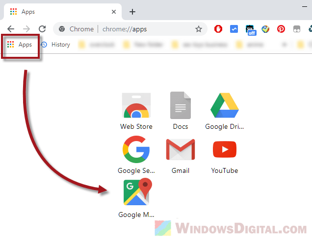 Chrome Google Maps offline installer download