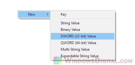 Create ProxySettingsPerUser registry value Windows 10