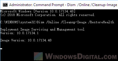 DISM to fix VCRUNTIME140.dll MSVCP140.dll not found