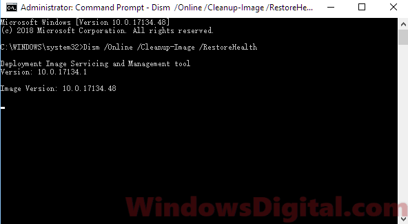DISM to fix Windows Update Troubleshooter Windows 10