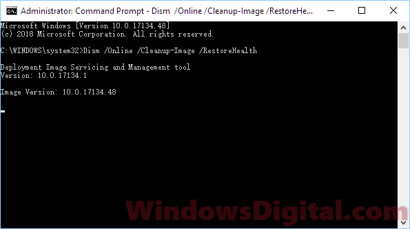 DISM to startup repair Windows 10 boot using command prompt