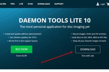 Daemon Tools Lite offline installer Free Download for Windows 10 64 bit