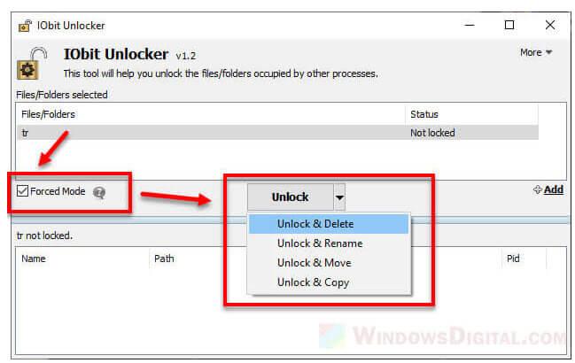 Delete Ghost File in Windows 10