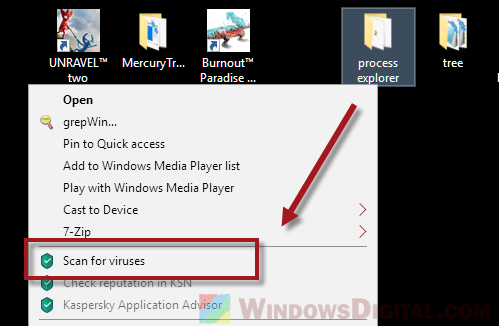 Deleted Files Keep Coming Back scan virus malware trojan