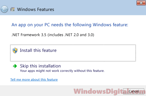 Download .NET Framework 3.5 Offline Installer Windows 10 includes .NET 2.0 and 3.0