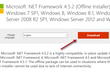 Download .NET Framework 4.5 Offline Installer Windows 7 64-bit