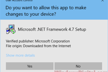 Download .NET Framework 4.7 offline installer Windows 10
