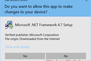 Download .NET Framework 4.7 offline installer Windows 10