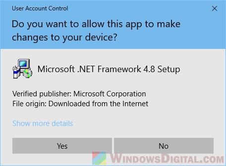 microsoft .net download windows 10