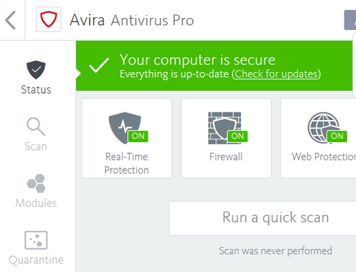 Download Avira Antivirus Offline Installer 2018