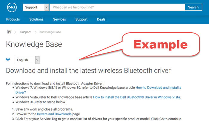 Download Bluetooth Driver for Windows 10 Dell HP Acer Toshiba Asus Lenovo