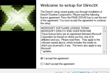 Download DirectX 9 Offline Installer for Windows 10 64-bit
