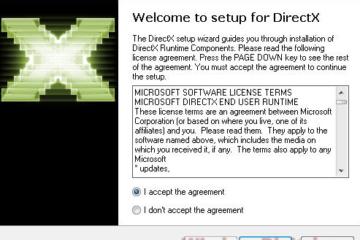Download DirectX 9 Offline Installer for Windows 10 64-bit