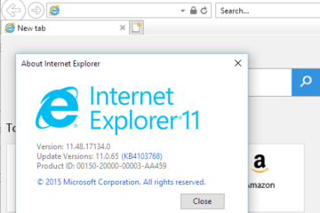 Download Internet Explorer 11 for Windows 10