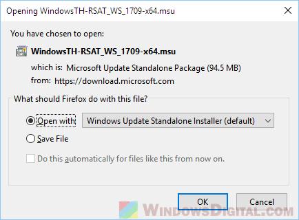 Download RSAT Windows 10