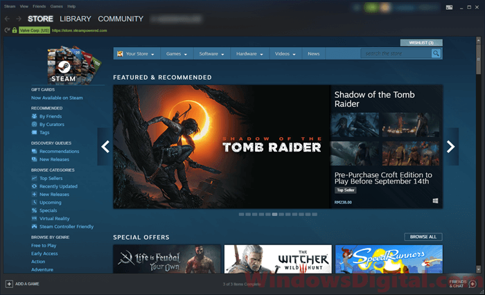Download Steam Offline Installer for PC Latest Full Version 2018