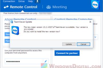 Download TeamViewer 13 for Windows 10 64 bit