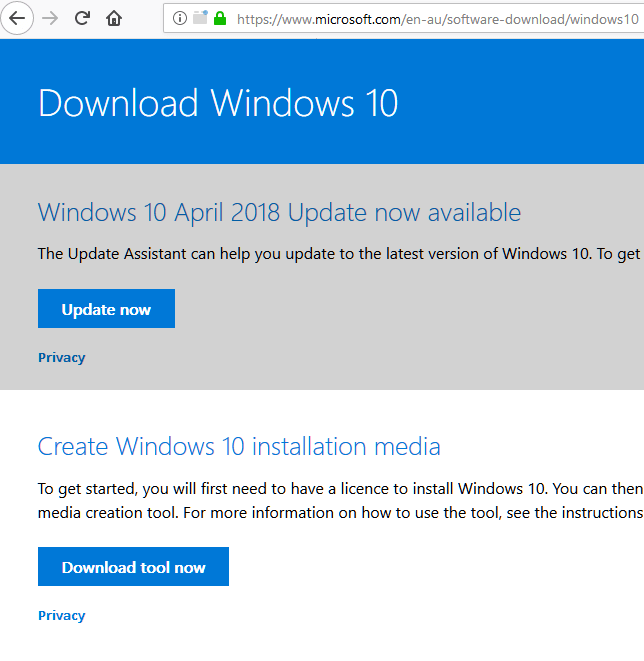 Download Windows 10 ISO 64 Bit Free Full Version From Microsoft