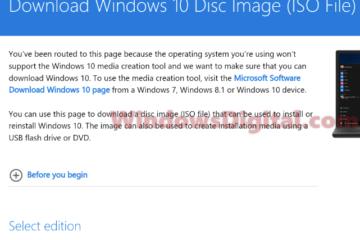 Download Windows 10 ISO 64 Bit Pro Full Version Free