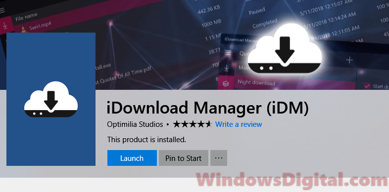 Download iDM extension for Chrome Windows 10