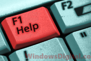 F1 key Get help with File Explorer in Windows 10