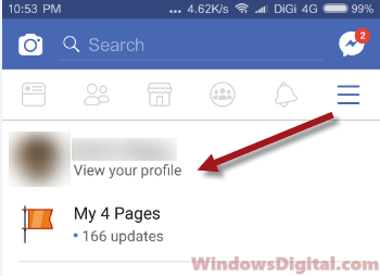 Facebook view your profile watched videos history