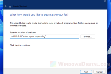 Force close program in Windows 11 without Task Manager