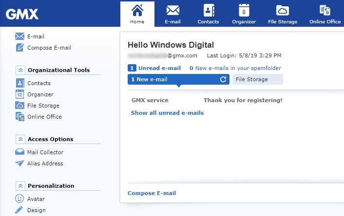 GMX Email Login How to Sign In to GMX Mail My Account Page