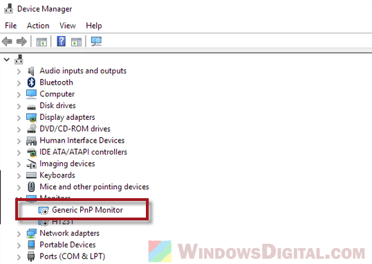 Generic PnP Monitor Driver Windows 10 64 bit Download Problem