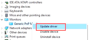 Generic PnP Monitor Driver Windows 10 64 bit Download