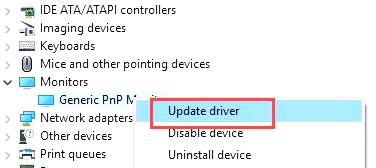 Generic PnP Monitor Driver Windows 10 64 bit Download