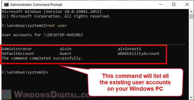 Give full administrator permission Windows 10