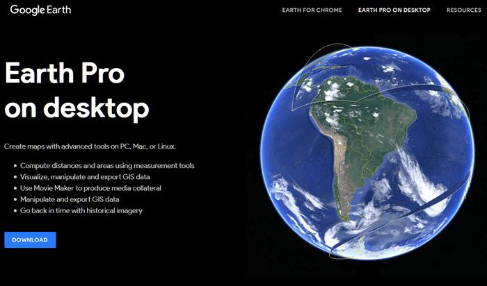 Google Earth Free Download for Windows 10 Offline Installer