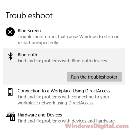 HP Dell Lenovo Asus laptop Bluetooth Not Working Windows 10