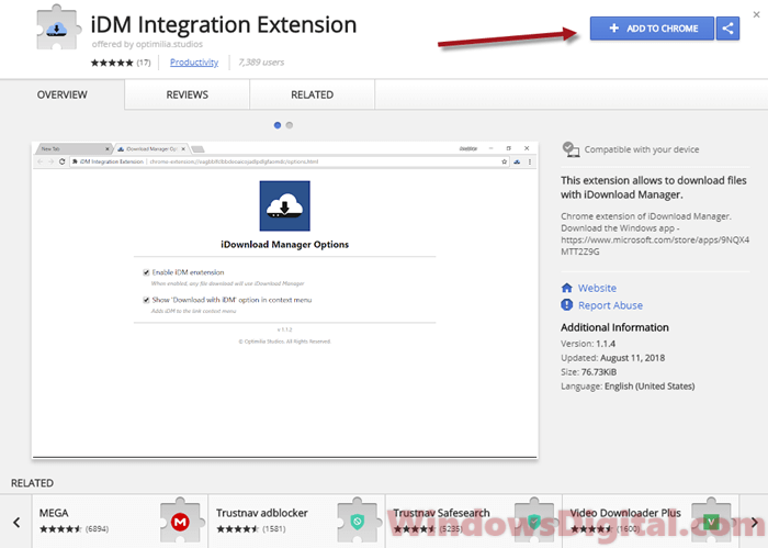 How to Add iDM Extension to Google Chrome Download