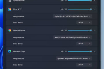 How to Change Output Device For Different Apps in Windows 11