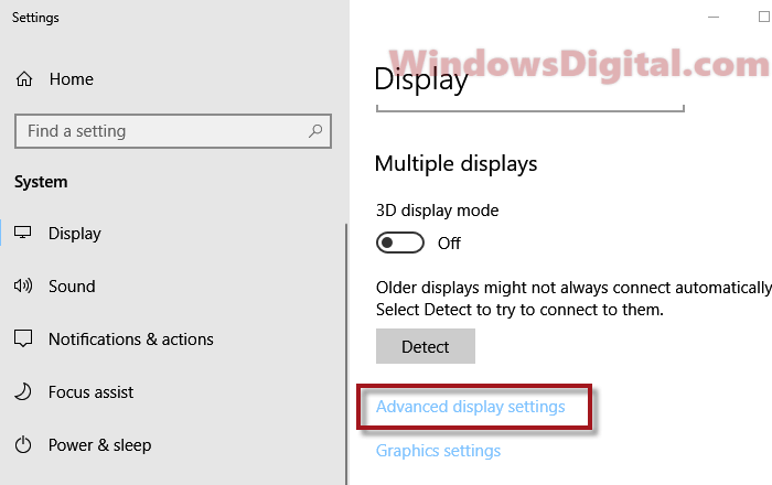 How to Change Screen Refresh Rate of Monitor in Windows 10